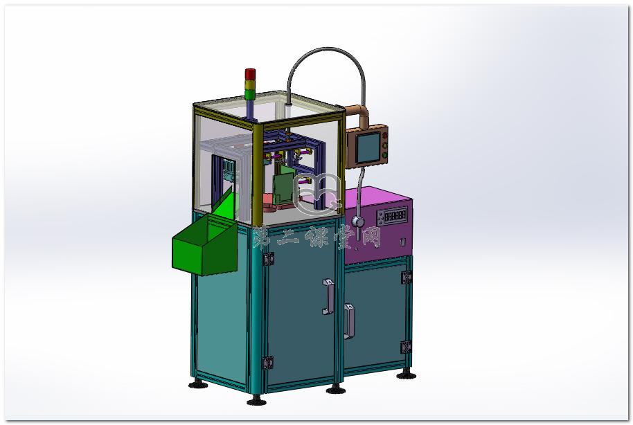 全自动面膜灌装热封装一体机(改进型) 3D