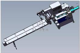 全自动枕式包装机 3D图纸 三维模型下载