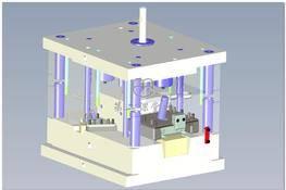 管道接口模具(UG设计) 3D图纸 三维模型下载