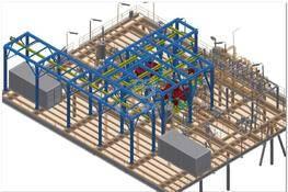 管道结构设计(用于船舶) 3D图纸 三维模型下载