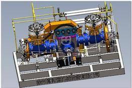 GDS115隔膜压缩机(全套图纸) 3D图纸 三维模型下载