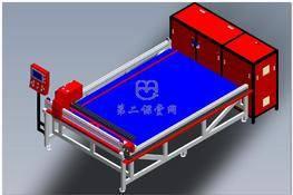 点胶线体(新型自动点胶机) 3D图纸 三维模型下载