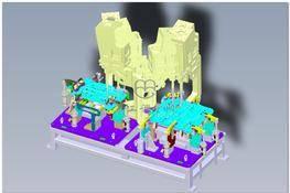 钣金冲孔机设备 3D图纸 三维模型下载