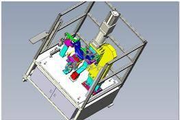 自动冲孔机 3D图纸 三维模型下载