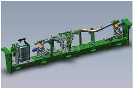管路柔性焊接夹具 3D图纸 三维模型下载