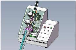 网络滤波器设备电子元件整脚机 3D图纸 三维模型下载