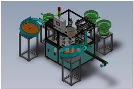 全自动医药配件装配机(气嘴组装机) 3D图纸 三维模型下载