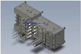 桶灌装机(PROE设计) 3D图纸 三维模型下载