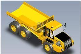 BELL B-30D矿用卡车模型3D图纸 3D图纸 三维模型下载