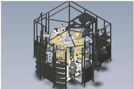 货车部件多工位全自动测试机 3D图纸 三维模型下载